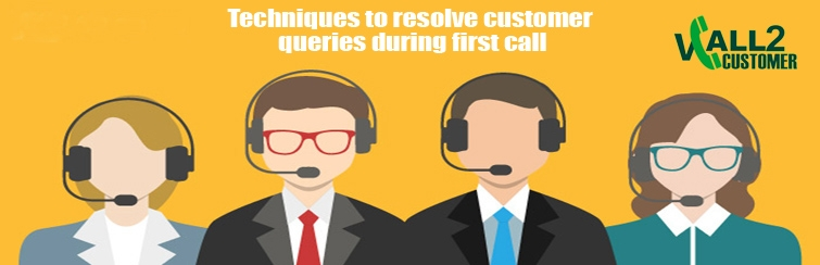 Techniques to resolve customer queries